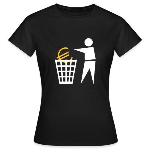 Eurotrash - T-shirt Femme