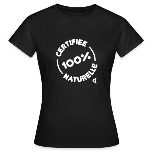 100pct naturelle - T-shirt Femme