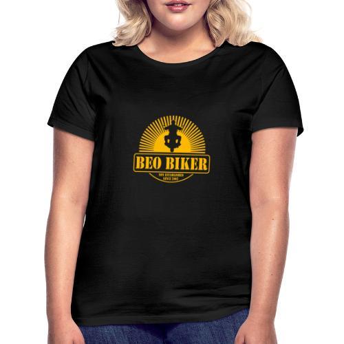 Logo Beo Biker Yellow - Frauen T-Shirt