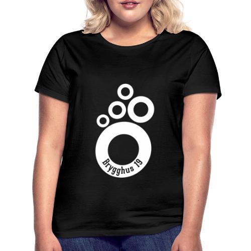 Klassisk B19 Logo - T-shirt dam
