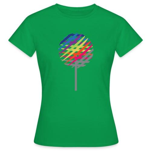 Rainbow Tree - Women's T-Shirt