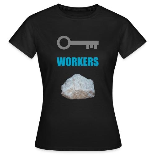 Key Workers Rock - Women's T-Shirt