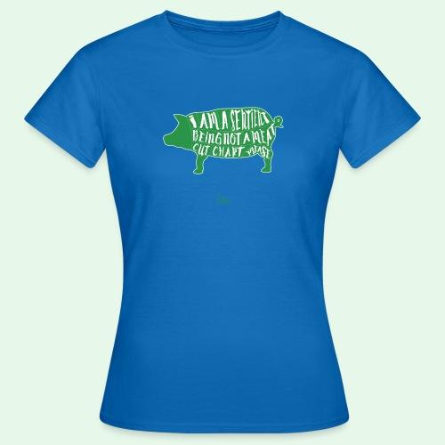 Sentient Being - Green - T-shirt dam