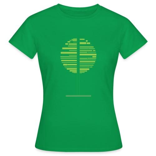 Green tree - Women's T-Shirt