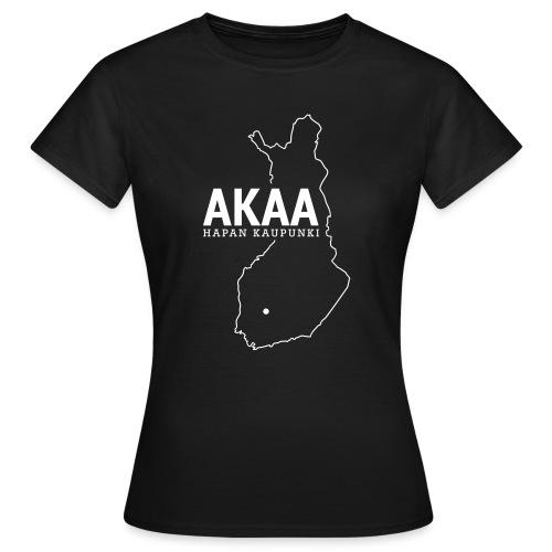 Kotiseutupaita - Akaa - Naisten t-paita