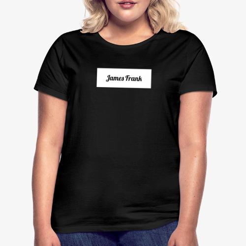 James Frank Name tag - T-shirt dam