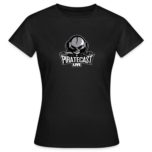 PirateCastLiveLogo - Women's T-Shirt