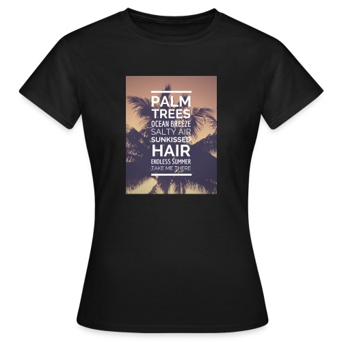 Palm shirts - Frauen T-Shirt