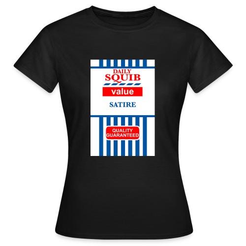 squibredvaluetshirtbig - Women's T-Shirt