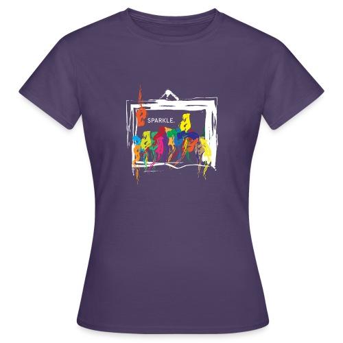 Sparkle White - Women's T-Shirt