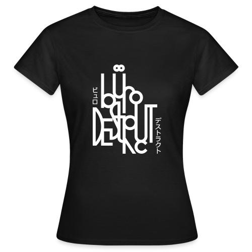 bd_burodestruct2019 - Frauen T-Shirt