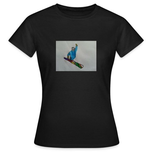 snowboard - Maglietta da donna