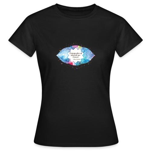 Citation d'Albert Einstein - T-shirt Femme