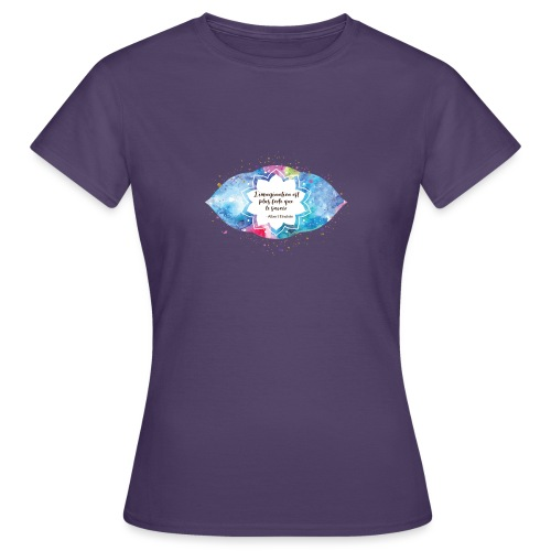 Citation d'Albert Einstein - T-shirt Femme