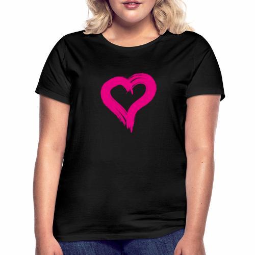 Pink Heart - Women's T-Shirt