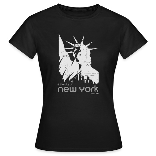 new york visit me - T-shirt Femme