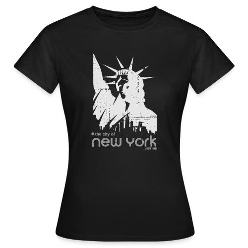 new york visit me - Frauen T-Shirt