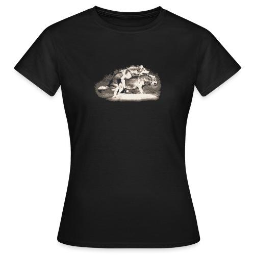 Wolf Loup Lupo Lobo - Women's T-Shirt