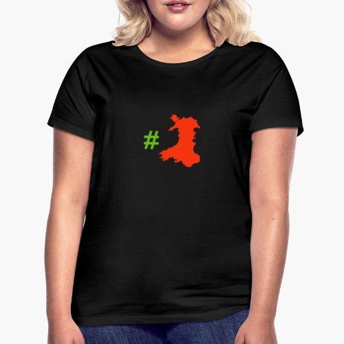 Hashtag Wales - Women's T-Shirt