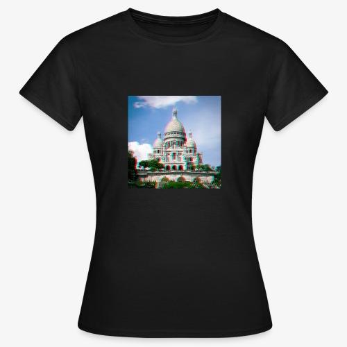 SacreCoeur Anaglyph - Frauen T-Shirt