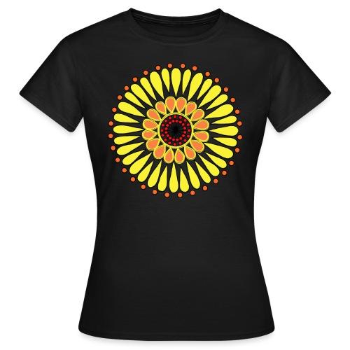 Yellow Sunflower Mandala - Women's T-Shirt