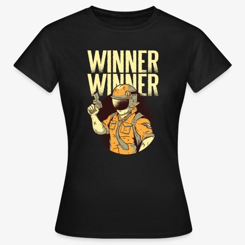 Winner Winner Gaming Gamer - Women's T-Shirt