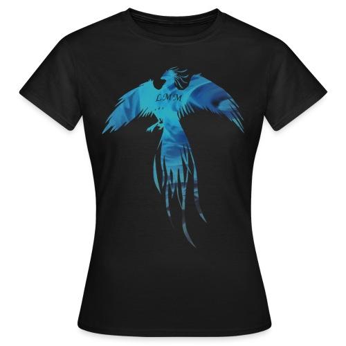 Phoenix blue fire png - T-shirt Femme
