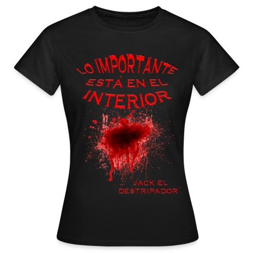 En el interior - Camiseta mujer