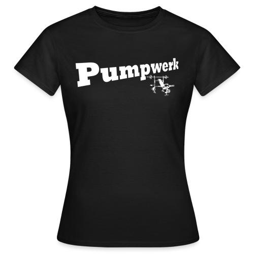 Pumpwerk bench white - Frauen T-Shirt