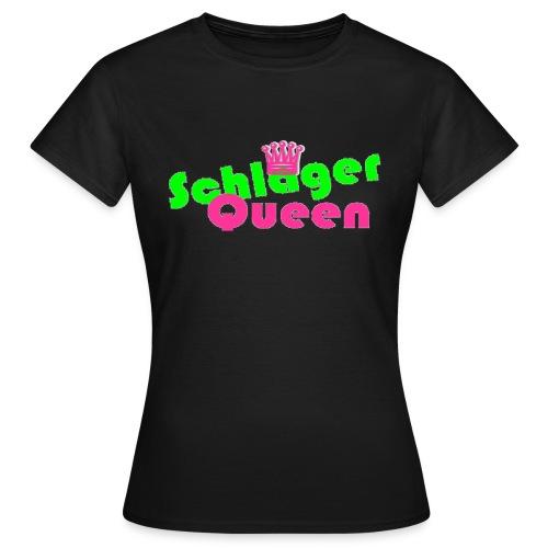 SchlagerQueen - Frauen T-Shirt