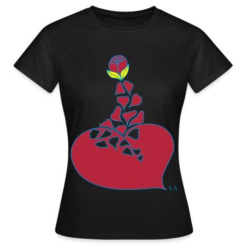 COEUR D'OASIS - T-shirt Femme