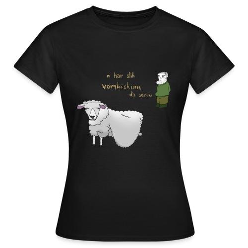 18 vombiskinn2 - T-skjorte for kvinner