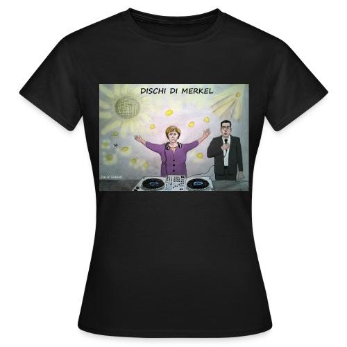Dischi di Merkel jpg - Maglietta da donna