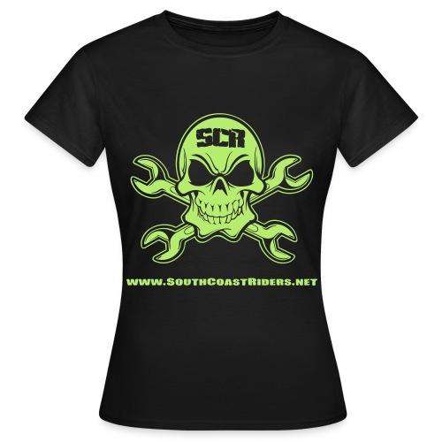 SCR SKULL NEGATIVE V2 - Women's T-Shirt