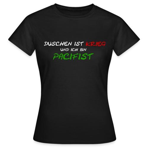 FRONTDuschen png - Frauen T-Shirt