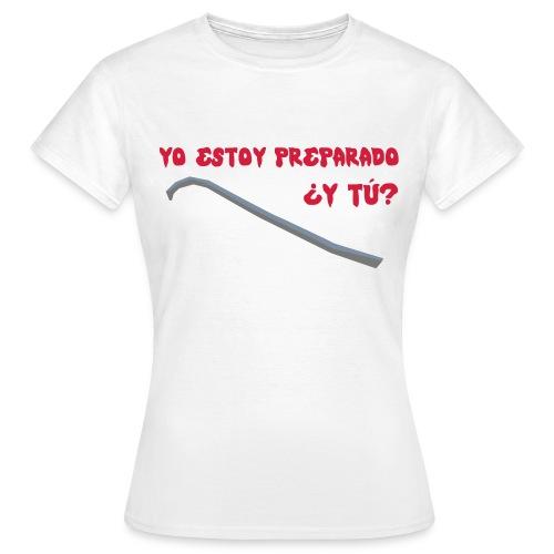 preparado palanca zombies - Camiseta mujer