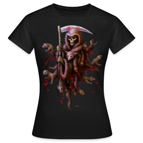 Death loves Fur - Frauen T-Shirt