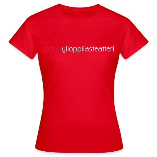 logo1 - Naisten t-paita