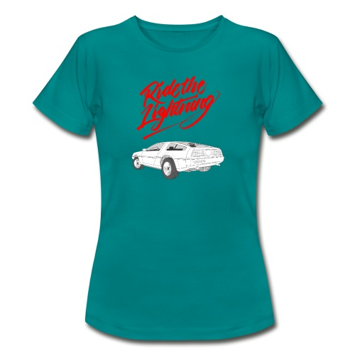 Delorean – Ride The Lightning - Frauen T-Shirt