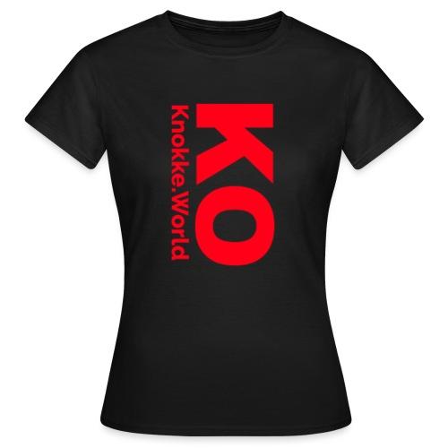 ko hoodie - Vrouwen T-shirt