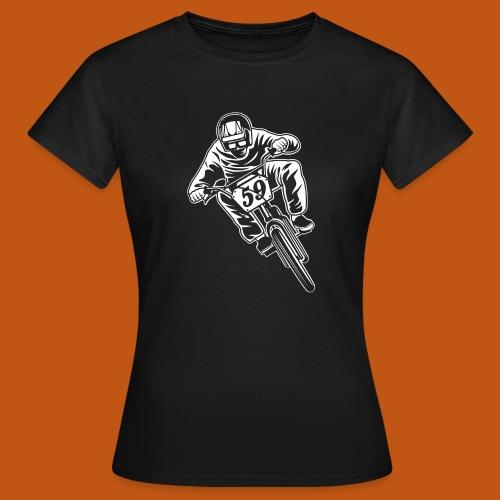 BMX Fahrrad / Bike 02_weiß - Frauen T-Shirt