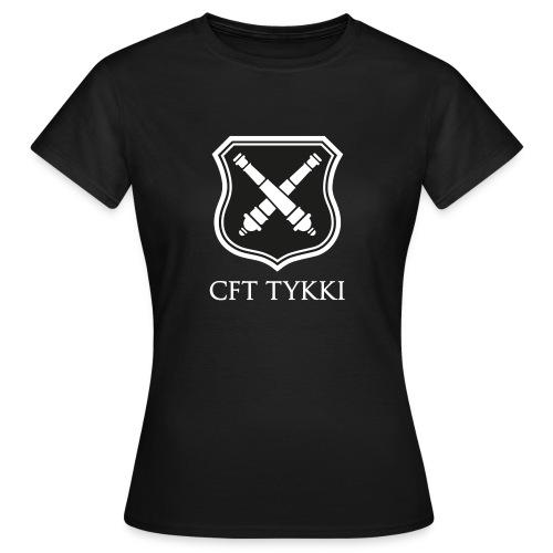 CFT Tykki valk teksti - Naisten t-paita