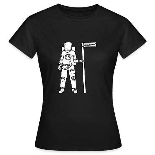 KalkSpace Astronaut - Frauen T-Shirt