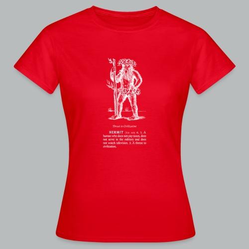 hermit - Women's T-Shirt