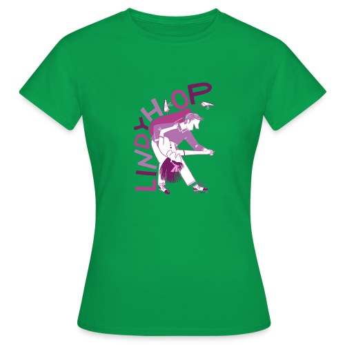 Lindy hop - Women's T-Shirt