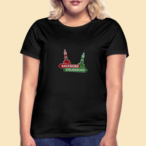 Backbord Steuerbord - Frauen T-Shirt