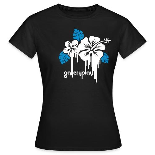 galleryplay flowers - Vrouwen T-shirt