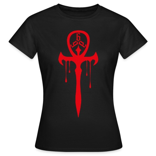 vampire cross - T-shirt dam