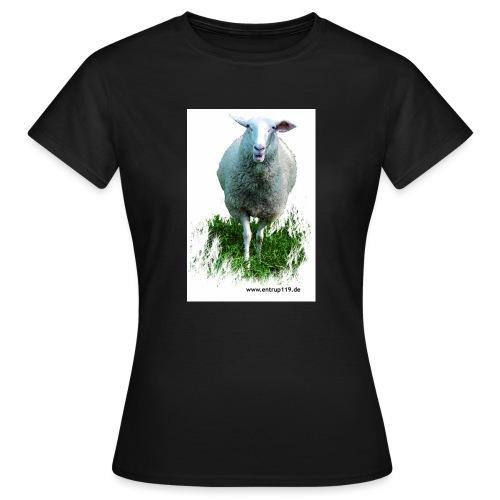 Gemaltes Entrup Schaf - Frauen T-Shirt