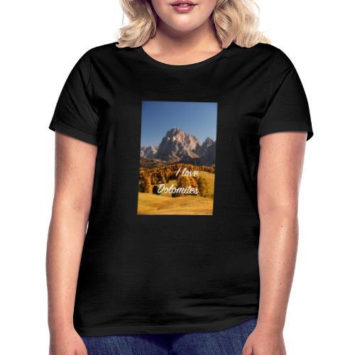 Langkofel - Wahrzeichen Südtirols - Frauen T-Shirt